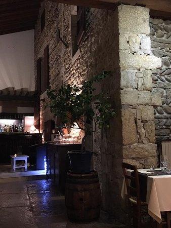Amberieu-en-Bugey, Francia: la salle de restaurant