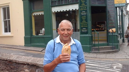 Tregenna Guest House: A giant Cornish Pasty is a must.