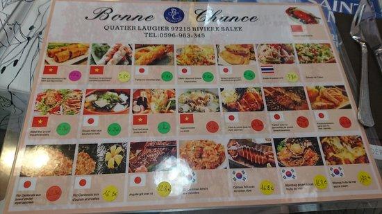 Riviere-Salee, Martinique: Bonne Chance