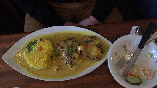 Buxtehude, Jerman: Es la tercera vez que vamos a este restaurante, y cada plato diferente que pides te sorprende. E