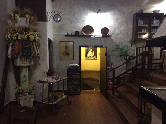 Il Vecchio Mulino : interno