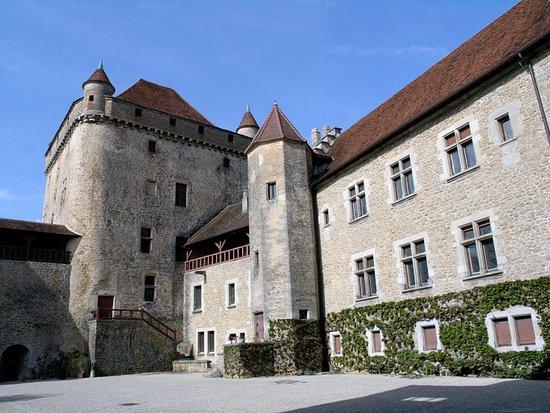 Lons-le-Saunier, France: Cour du château