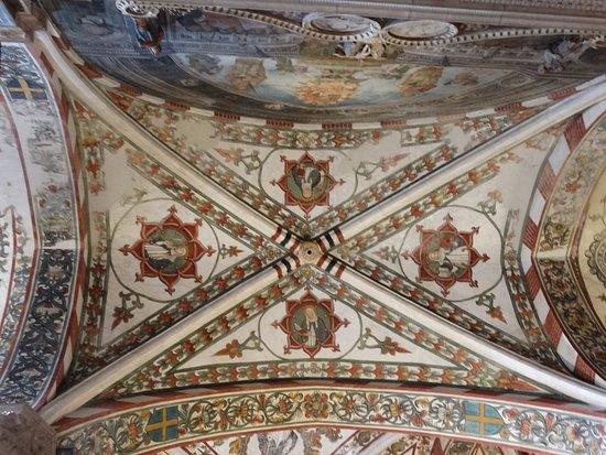 Soffitto A Volta Affrescato : Affreschi ul soffitto foto di basilica di santa anastasia