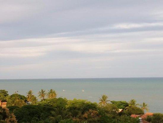 Cumuruxatiba Beach: Pier para ver o por do sol