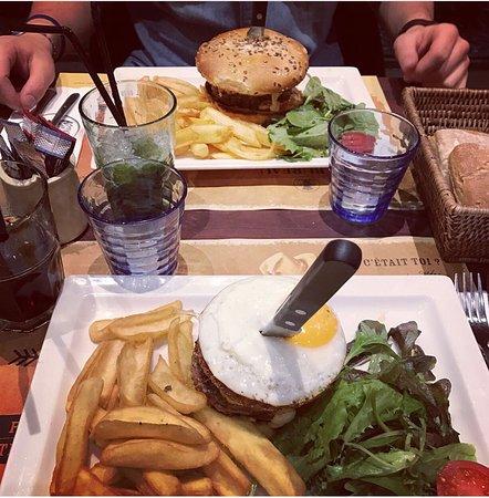 Blue Cheese Salade Picture of Au Bureau Clermont Ferrand