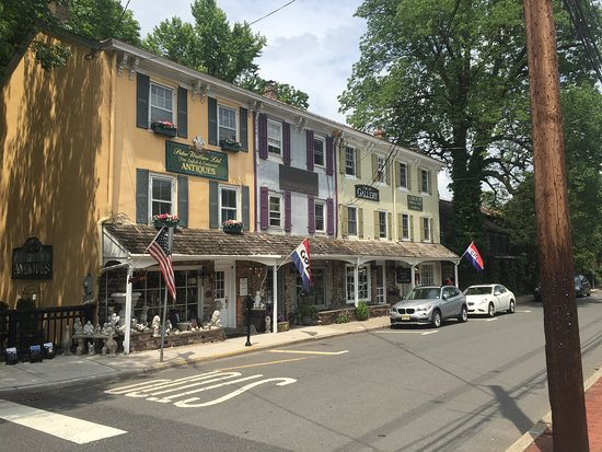 Lambertville, NJ : Charming area to walk around