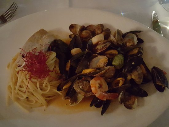 Eersel, The Netherlands: spaghetti al frutti di mare
