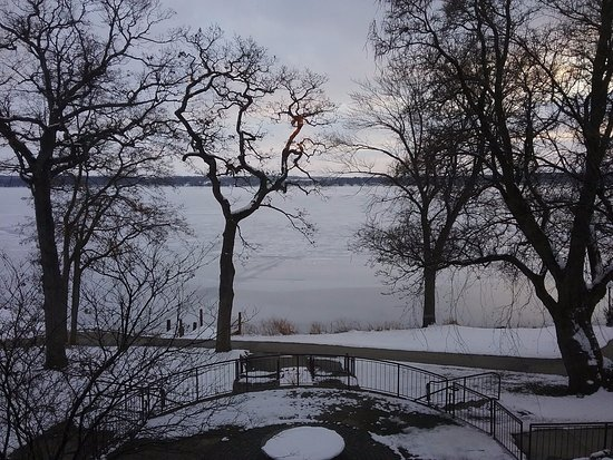 Green Lake, WI: View from main lobby sitting area