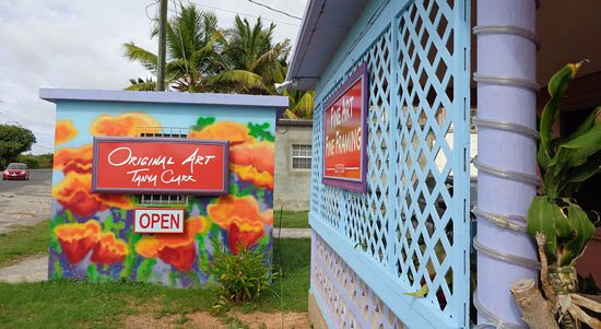 South Hill, Anguilla: Phoenix Gallery Anguilla BWI