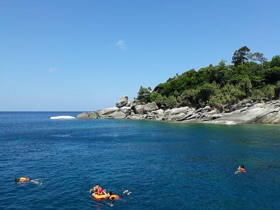 Ko Racha Noi, Thailand: around the island
