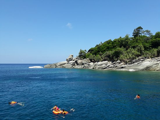 Ko Racha, Tajlandia: around the island