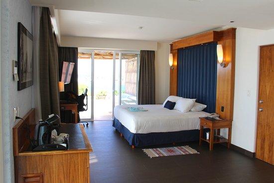 CostaBaja Resort & Spa: Habitación doble c/vista al mar c/terraza