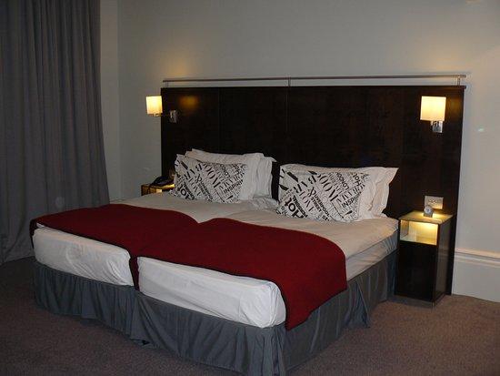 Andaz London Liverpool Street: Habitación doble cama twin