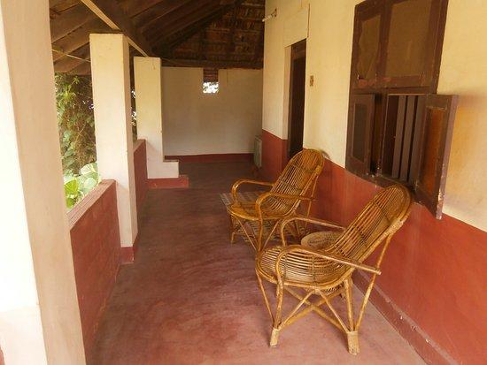 Kannur Beach House: Balcony