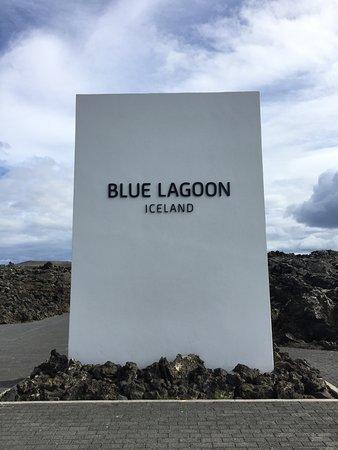 Grindavik, ไอซ์แลนด์: おしゃれな看板です