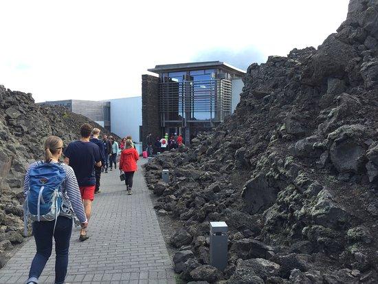 Grindavik, ไอซ์แลนด์: オフシーズンでしたが、たくさんの人が訪れていました