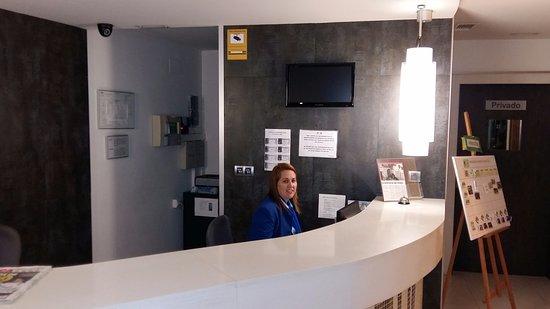 Hotel Playa Cotobro: Recepción