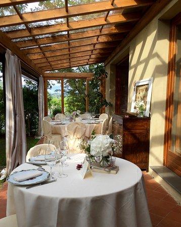 Барбедино-Валь-д'Эльза, Италия: la veranda