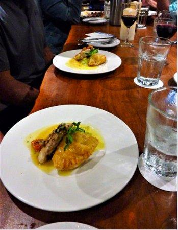 Hawaii Tasting Tours: Sea Bass and Empanada from Koa... A*MAZ*ING