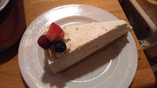 Evanton, UK: Vanilla cheesecake...