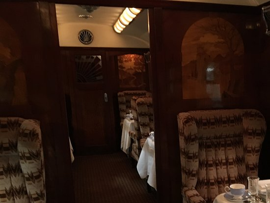 Belmond British Pullman: Inside the carriage