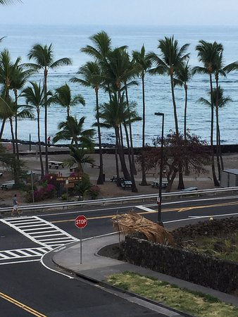 The Beach Villas at Kahalu'u: View from Lanai