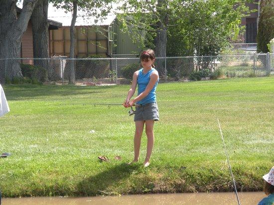 Gardnerville, NV: fishing derby at Lampe