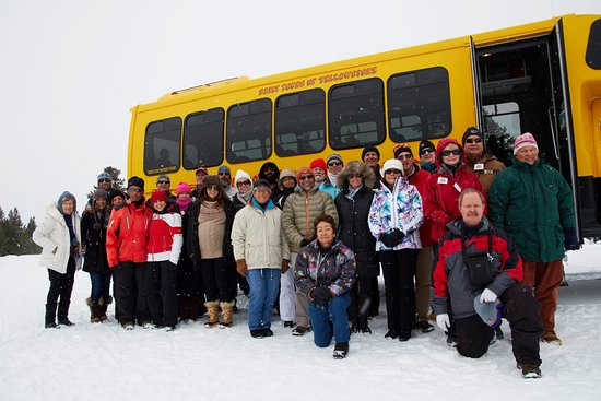 Yellowstone Snowcoach Transportation Yellowstone National Park All You Need To Know Before