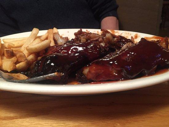 Bay City, MI: BBQ Ribs, very good