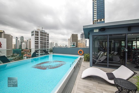Rooftop Pool Picture Of Oakwood Studios Singapore Singapore Tripadvisor