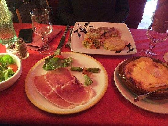 Restaurant le franco suisse dans evian les bains avec - Restaurant cuisine moleculaire suisse ...