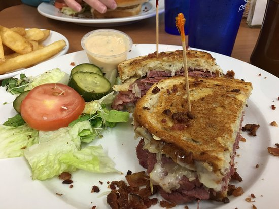 Reuben And Chicken Sandwich