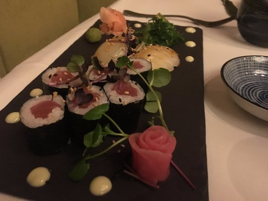 Marburger Esszimmer: Sushi