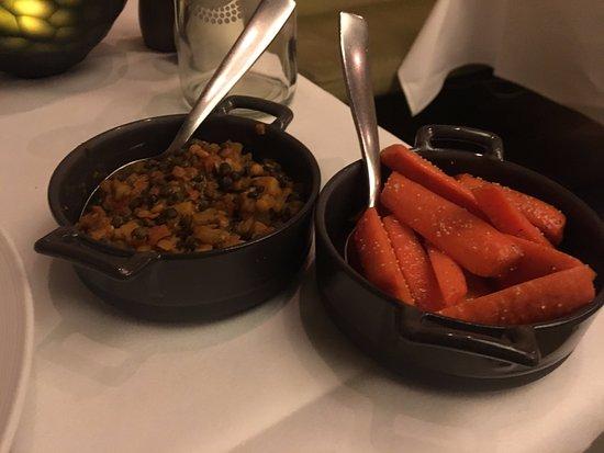 Marburger Esszimmer: Guarnición De Zanahorias Y Lentejas Al Curry