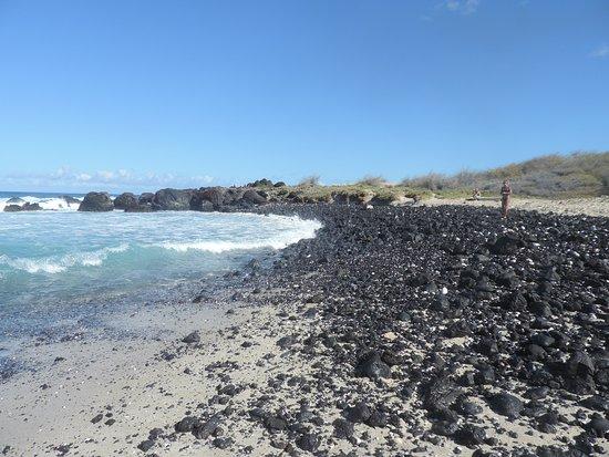 """Manini'owali Beach (Kua Bay): Kua Bay """"sans sand."""""""