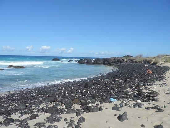 Manini'owali Beach (Kua Bay): Lovely if you love lava!