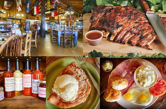 Monteagle, TN: Cozy Dining, Smoked Ribs, Fried Pies, Breakfast All Day, and great Homemade sauces to go with it