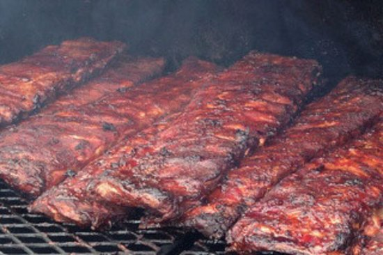 Monteagle, TN: Smoked Pork Ribs, slow cooked and smoked the right way.
