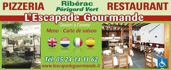 Riberac, Francja: 60 couverts à l'intérieur, 90 couverts en terrasse
