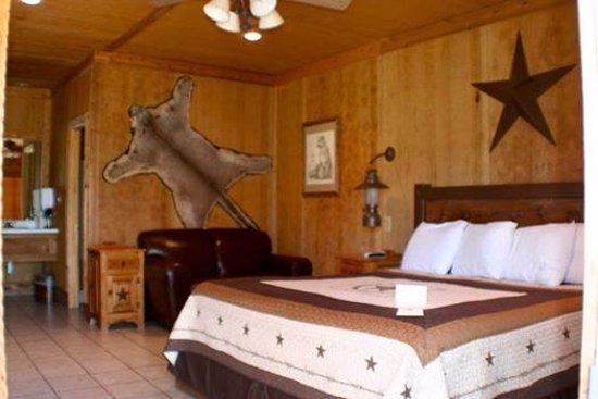 Harvard Lodge at Sproul Ranch: King room.  $145.00 per night for 2 people, and $10.00 for each additional person.