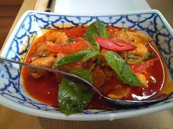 Bangkok Cafe: curry de pollo