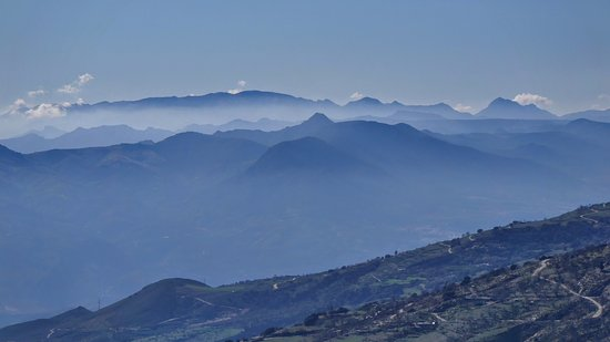 Orgiva, Spain: A view from our walk in the Sierra Nevada