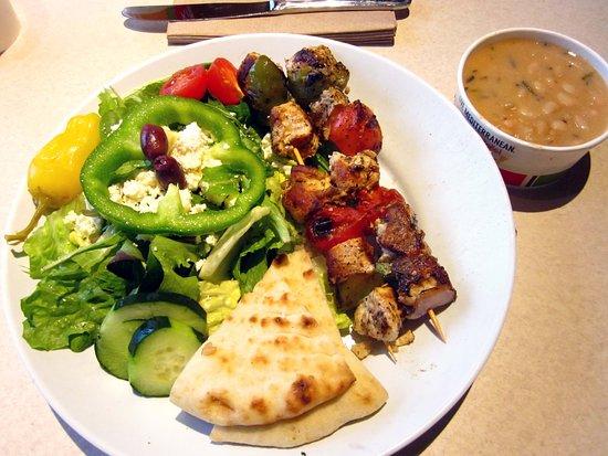 Steak Stack Sandwich Picture Of Zoes Kitchen Newtown Tripadvisor