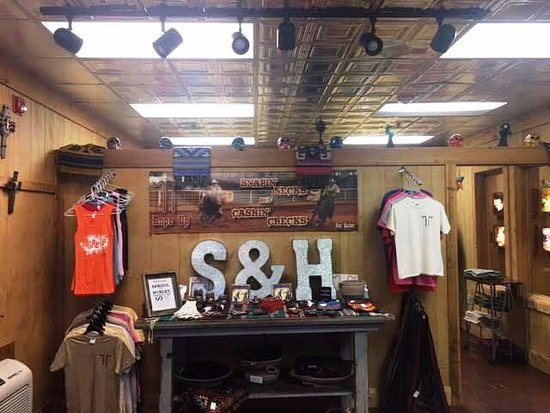 Harvard Lodge at Sproul Ranch: S&H Trading Post located inside the Harvard Hotel.  For more info call 432-426-2500.