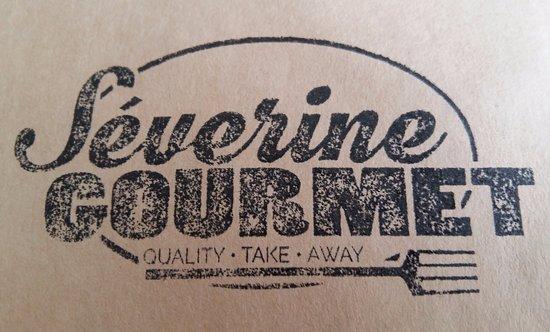 Crolles, France : Logo Severine Gourmet - Quality Take Away