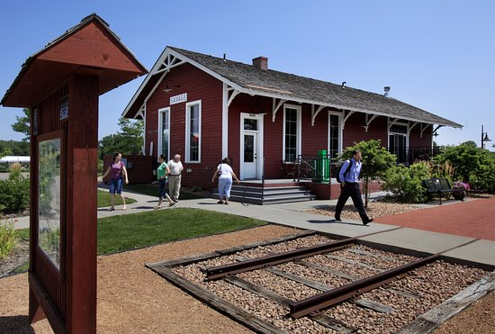 Savage, MN: Historic Depot