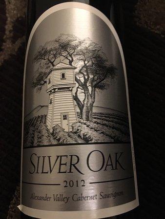 Silver Oak Cellars: Excelente vinho!