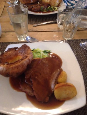 Tollemache Arms: Amazing food