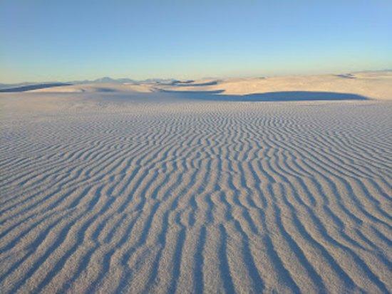Algodones, Nuevo Mexico: 幻想のホワイトサンズ