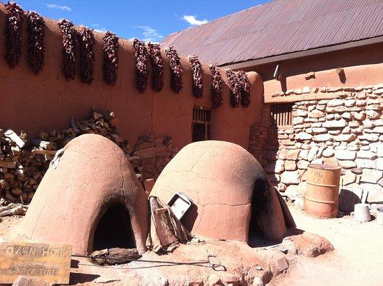 Algodones, Nuevo Mexico: 昔ながらの料理用オーブン=オノ